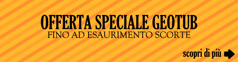 Offerta speciale geotub
